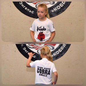 футболка кобра для детей